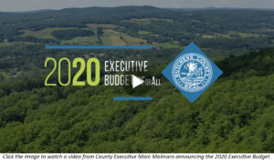 Public Invited to Discuss, Share Feedback on Proposed 2020 County Executive Budget