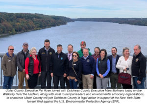 Ulster and Dutchess Counties Unite to Fight EPA's Decision to Issue Certificate of Completion for Hudson River Cleanup