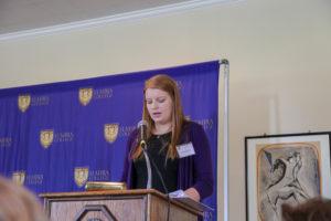 Elmira College recognizes Emma Clegg of Clinton Corners with Key Award
