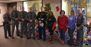 Troop K will once again be joining forces with the United States Marine Corps for the annual Toys-for-Tots drive