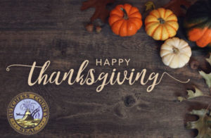 A Thanksgiving Message from County Executive Marc Molinaro