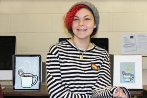 Poughkeepsie CTI Student Designs BOCES Holiday Card & Gains Work Experience