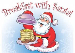 BREAKFAST WITH SANTA AT DOVER FIREHOUSE BY J.H.K. HOSE CO. AUXILIARY
