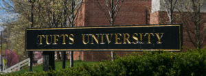 Holmes student Brigid Barrick recognized for academic excellence at Tufts University