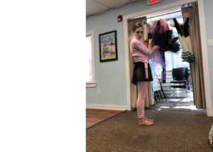Children Meet a Ballerina at the Pawling Library