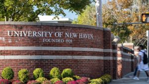 Ariana Lasher of Dover Plains, Hannah Glynn, Brianna Graham of Poughquag,  Andrew Anderson of Wingdale received degrees from the University of New Haven