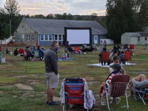 Pawling Rotary Brings Community Partnerships Together for Family Movie Night at Lakeside Park