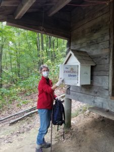 The Little Free Library on the Appalachian Trail