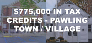 $775,000 tax relief offered to Pawling residents.  15% of Town and Village budgets combined.