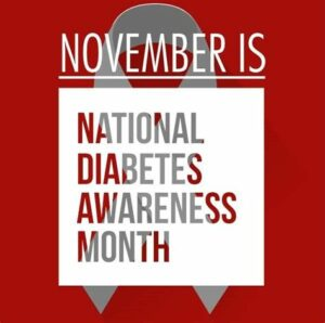 November is National Diabetes Awareness Month We'd Like to Discuss Pre-Diabetes