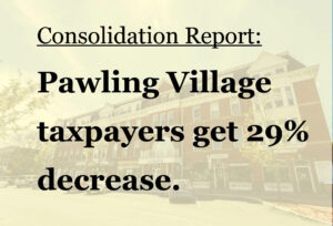 Interim Report projects 29% Savings for Pawling Village Taxpayers