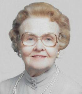Obituary, Inez Wyman