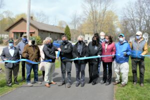 Harlem Valley Rail Trail Phase IV Completion Celebrated with Ribbon Cutting Ceremony in Millerton