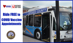 Free Transportation Available to County's COVID-19 Vaccination Sites