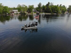 State police locate a missing boater on Kauneonga Lake in the town of Bethel