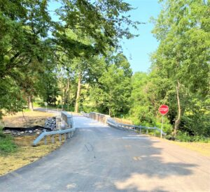 Bridge Work Complete on Willow Vale Road in Pine Plains