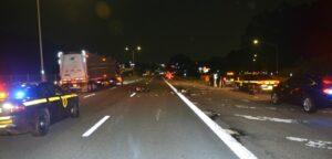 Bronx man arrested after leaving fatal crash on I-87