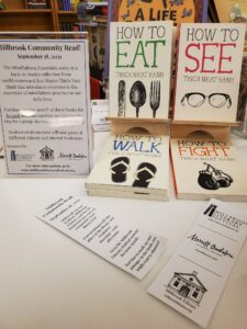 MILLBROOK LITERARY FESTIVAL PRESENTS COMMUNITY READ AND CHILDREN'S EVENTS ON SEPTEMBER 18