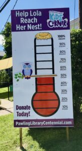 Pawling Library's Kids Corner . . . More than 50% Raised!